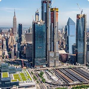 Comitiva do GRI conhece Hudson Yards, megacomplexo de NY