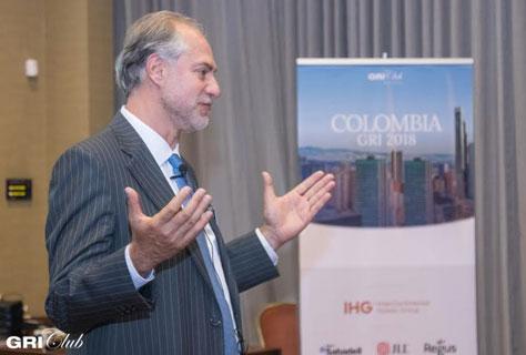 Eduardo Uribe Ordoñez, Vice-Presidente Comercial Banca Inmobiliaria de Bancolombia