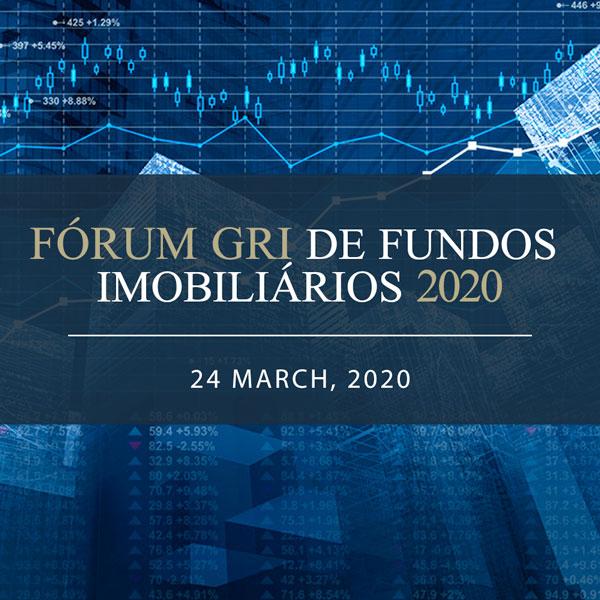 Fórum GRI de Fundos Imobiliários 2020