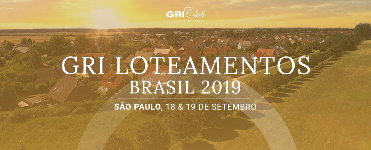 GRI Loteamentos & Comunidades Planejadas Brasil 2019