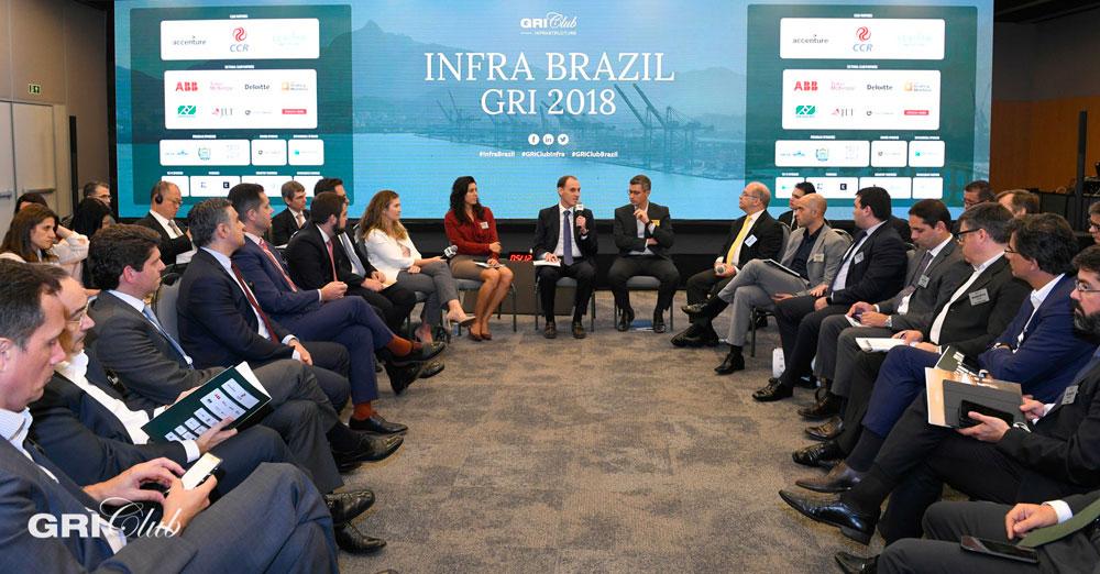 sua participação no evento Infra Brazil GRI 2019