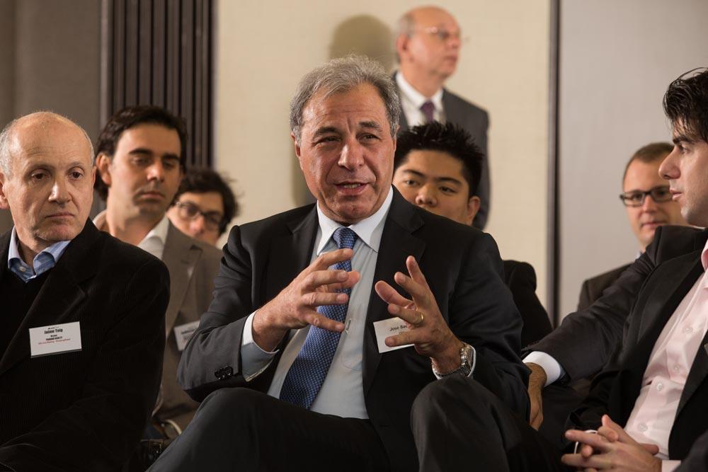 José Manuel Baeta Tomás em evento do GRI Club Real Estate/ GRI Club