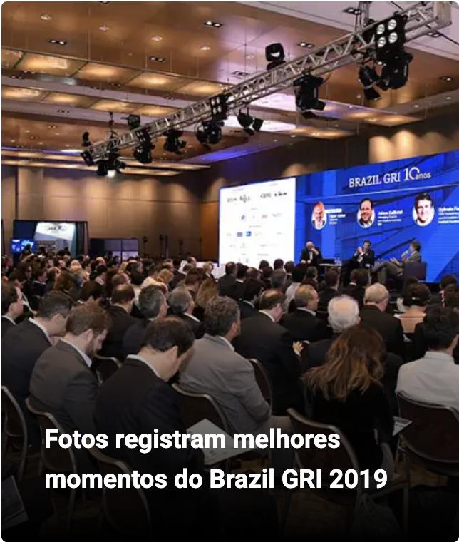 Fotos registram melhores momentos do Brazil GRI 2019
